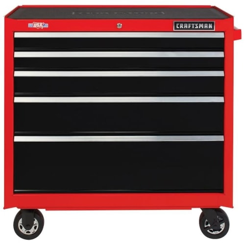 """Craftsman 37"""" 5-Drawer Tool Cabinet for $229 in cart + pickup"""