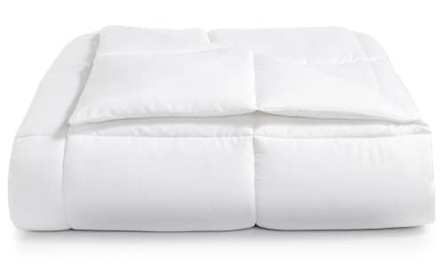 Martha Stewart Essentials Reversible Down Alternative Comforter for $25 + free shipping