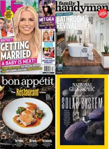 DiscountMags Fall Sale: 1-Year Subscriptions from $4.95