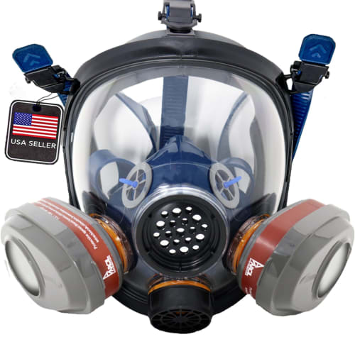 Full Face Respirators at Parcil Safety: 50% off + free shipping