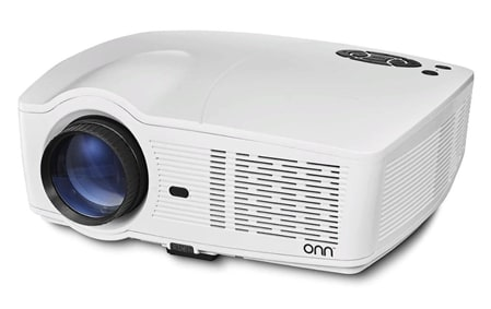 Refurb Onn Portable 720p LCD Projector w/ Roku Streaming Stick for $55 + free shipping