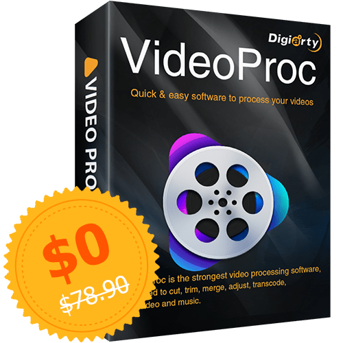 VideoProc for PC and Mac for free + email delivery