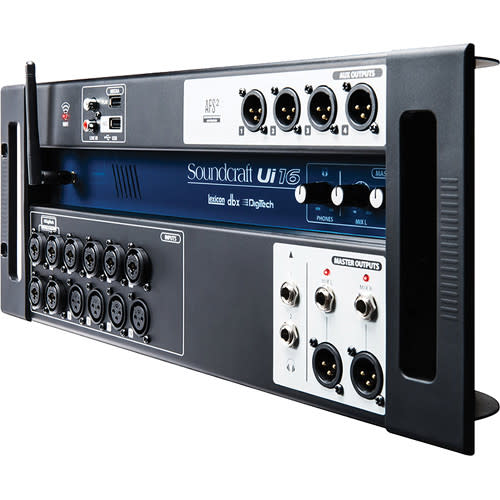 Ui16 16-Input Remote-Controlled Digital Mixer for $299 + free shipping
