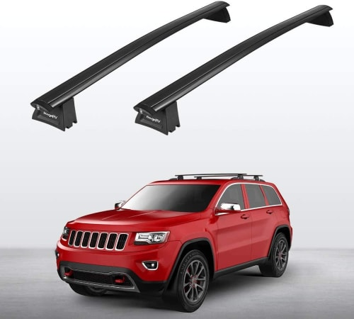 Aluminum Roof Rack Cross Bars for Jeep for $87 + free shipping