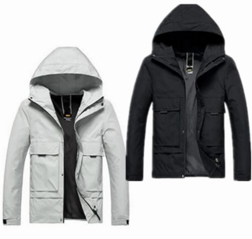 Men's Hooded Hiking Jacket 2-Pack for $33 + free shipping
