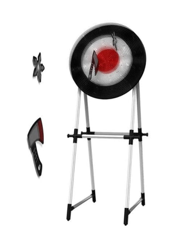 Saddlebred Axe and Throwing Star Target Set for $36 + free shipping w/ $49