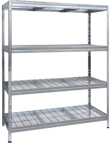 AR Shelving 4-Shelf Galvanized Wire Deck Shelving for $105 + pickup
