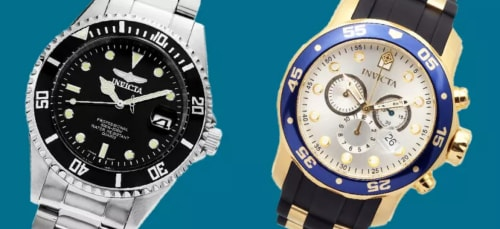 Invicta Watches at eBay: Up to 96% off + free shipping