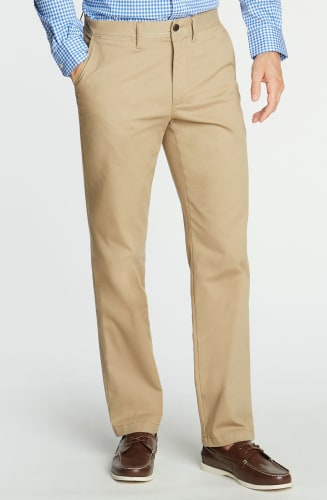 Nautica Men's Classic-Fit Wrinkle-Resistant Deck Pants for $27 + free shipping w/ $50