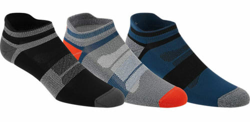 ASICS Men's and Women's Quick Lyte Cushion Single Tab Socks for $5 in cart + free shipping