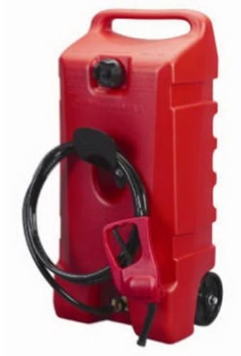 Sceptre Flo n' Go DuraMax 14-Gallon Rolling Gas Can for $112 + free shipping
