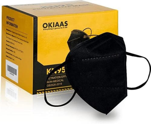 Okiaas Face Mask 25-Pack for $11 + $5.99 s&h