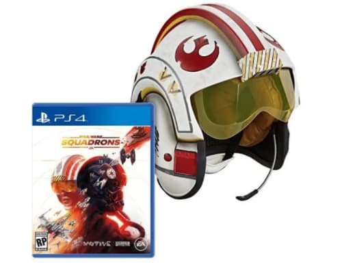 Star Wars: Squadrons and Black Series Battle Simulation Helmet Bundle for PS4: Preorder for $130 + free shipping
