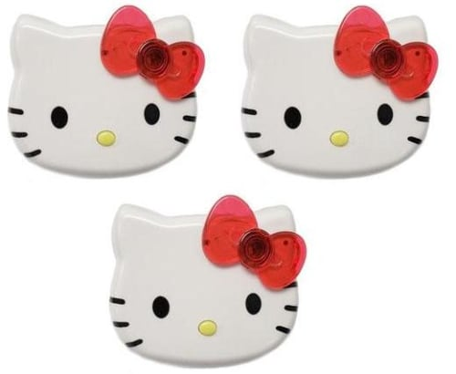 Hello Kitty USB Charger 3-Pack for $13 + free shipping