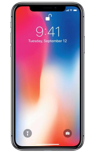 Refurb Unlocked Apple iPhone X 64GB Phone for $308 + free shipping