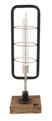 Willow Row Metal LED Lantern for $36 + free shipping