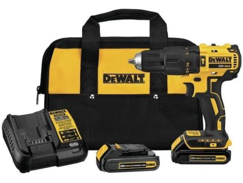 "DeWalt 1/2"" 20V Max Variable Speed Brushless Cordless Hammer Drill for $129 + free shipping"