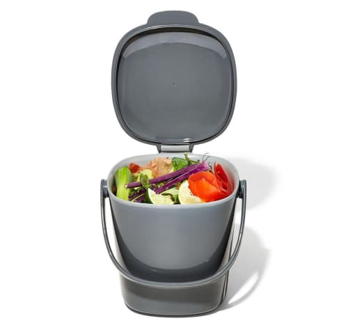 OXO Good Grips Easy Clean 0.75-Gallon Compost Bin for $16 + free shipping w/ $25