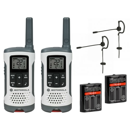 Motorola Talkabout T260 Two-Way Radio Set for $50 + free shipping