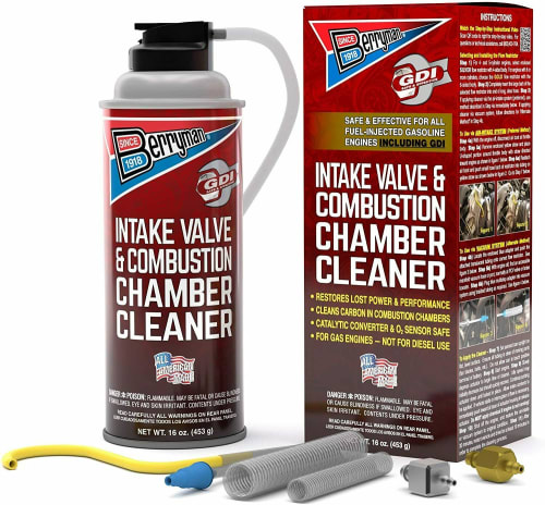 Berryman Intake Valve and Combustion Chamber Cleaner Spray Kit for $25 + free shipping