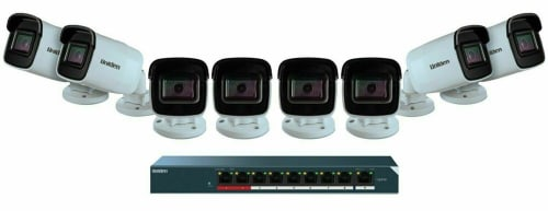 Uniden 8-Camera 1080p Outdoor Security Camera System w/ 9-Port PoE Switch for $215 + free shipping
