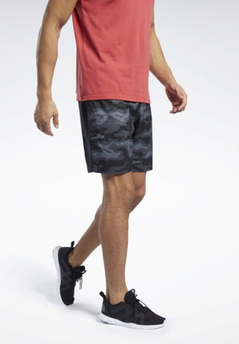 Reebok Men's Workout Ready Graphic Shorts for $12 + free shipping