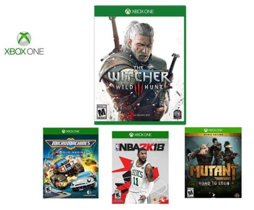 Xbox One Game Bundle for $18 + free shipping