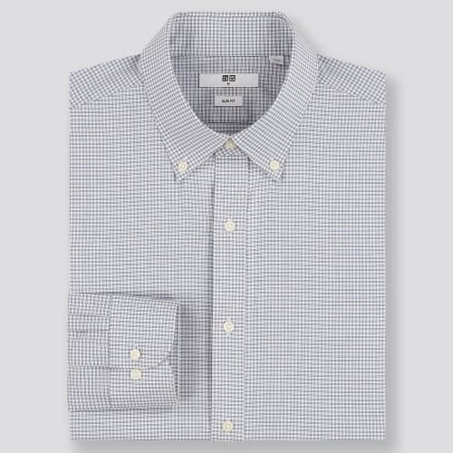 Men's Button-Up Shirts at Uniqlo from $10 + free shipping w/ $99