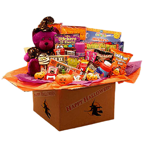 Halloween Activities Deluxe Care Package for $58 + free shipping