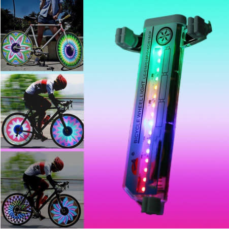 Bike Spoke Light with 32 LEDs for $8 + $1.49 s&h