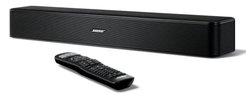 Refurb Bose Solo 5 TV Sound System for $100 + free shipping