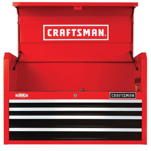 Craftsman 2000 Series 4-Drawer Steel Tool Chest for $209 + pickup
