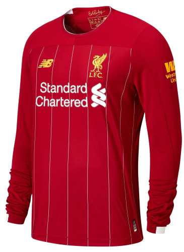 New Balance Men's Liverpool FC Home 19/20 Jersey for $30 + free shipping