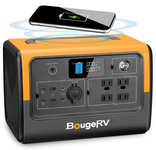 BougeRV 716Wh Portable Power Station for $520 + free shipping