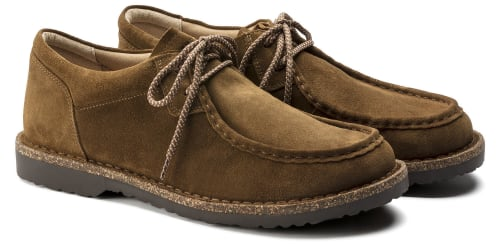 Birkenstock Men's Pasadena II Suede Leather Moc Toe Shoes for $126 + free shipping