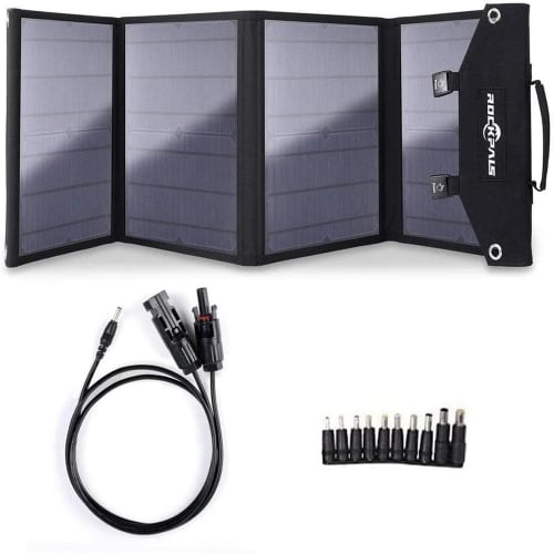 Rockpals 100W Foldable Solar Panel Charger for $160 + free shipping