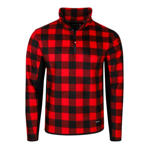 Canada Weather Gear Men's Buffalo Checker 1/4-Zip Jacket for $24 + $5.95 s&h
