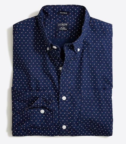 J.Crew Factory Clearance Sale: Extra 50% off + free shipping w/ $99