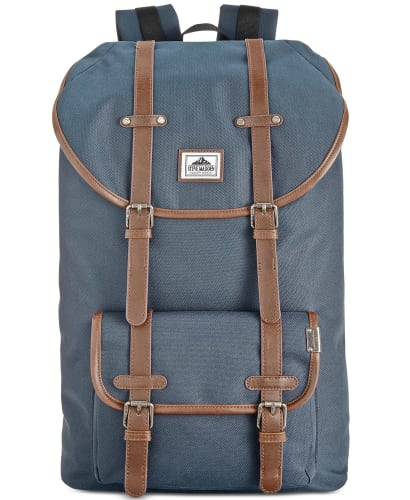 Steve Madden Men's Solid Utility Backpack for $26 + free shipping