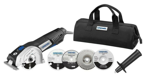 "Refurb Dremel 7.5-Amp 4"" Ultra-Saw Tool Kit for $72 + free shipping"
