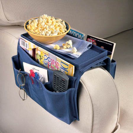 The Couch Caddy Arm Rest Organizer for $6 + $1.49 s&h