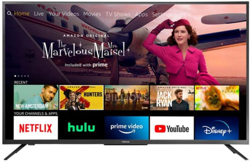 """Toshiba 50"""" 4K HDR LED UHD Smart Fire TV (2020) for $260 + free shipping"""