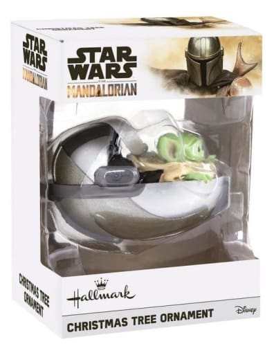 Star Wars: The Mandalorian The Child Christmas Tree Ornament for $8 + free shipping w/ $35