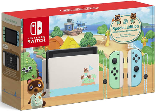 Nintendo Switch V2 Animal Crossing: New Horizons Edition 32GB Console for $300 + free shipping