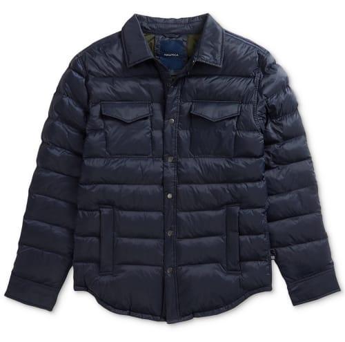 Nautica Men's Overshirt Jacket for $50 + free shipping