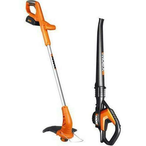 Worx 20V Lithium 2-in-1 Grass Trimmer and Blower Kit for $81 in cart + free shipping