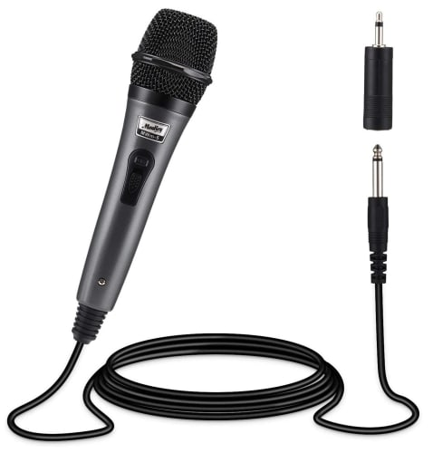 Moukey Dynamic Wired Microphone for $6 + free shipping