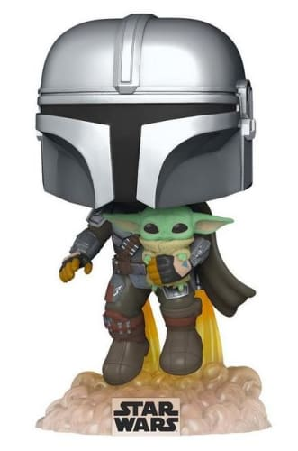 Funko Pop! Star Wars: The Mandalorian with The Child for $10 + pickup