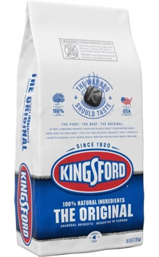 Kingsford Original Charcoal Briquettes 16-lb. Bag for $7 for Ace Rewards Members + free local delivery w/ $50