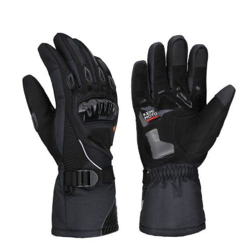 Kemimoto Touchscreen Waterproof Motorcycle Gloves for $23 + free shipping